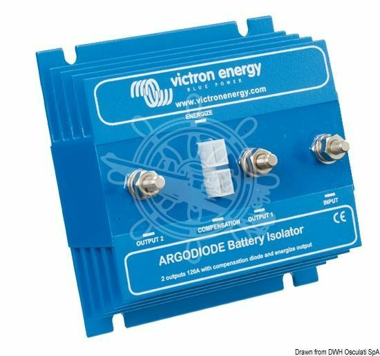 VICTRON Ladverteiler Argodiode x 2 x Argodiode 80 A e291fb