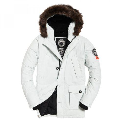 Camicia Superdry Putty pelliccia bianca tagliata Everest Parka HXN