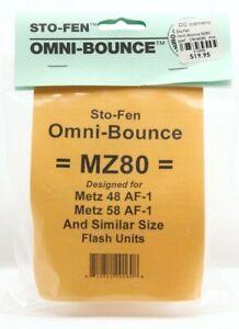 New Sto-Fen OM-MZ80 Omni-Bounce Diffuser #12898