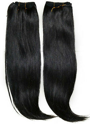 "12-26"" Color #4 RAW Virgin Remy Human Hair Extensions Russian Straight Bundle"