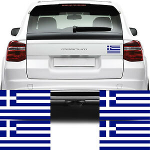 Details About 4x Greece Flag Car Van Stickers Greek Galanoleykh Kyanoleykh Decal Graphics