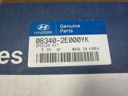 2005-2009 HYUNDAI TUCSON NEW OEM SILVER REAR SPOILER 08340-2E000YK #0106T