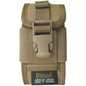 Maxpedition-Militaire-Belt-Clip-On-Pda-Holster-Iphone-Gps-Radio-Army-Holder-Khak