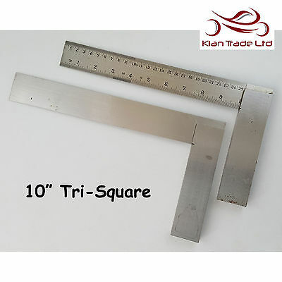 """6/"""" inch 150mm Try Square Graduated Marked Tri 90 Top Quality Wood Carpentry Tool"""