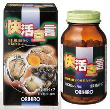 ORIHIRO KAIKATSU SENGEN Garlic, Oyster, Turmeric, Clam Extract 180capsule 60days