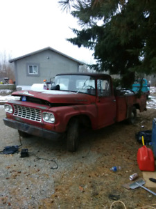 1962 international pickup project truck