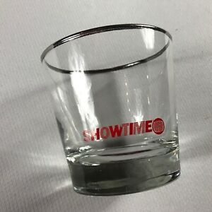 Showtime-Glass-VTG-Drink-Jack-Coke-Liquor-TV-Television-Station-Clear-Red-Cup