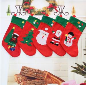 MC Trend Nikolausstiefel Heute gibt`s Geschenke Weihnachtsstrumpf Nikolaus Weihnachten Strumpf zum Aufh/ängen und Bef/üllen /Überraschung