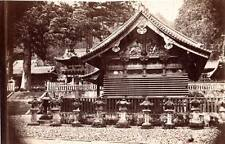 Albumen image c1880's Historic Japan early Temple? location unknown Tokio?