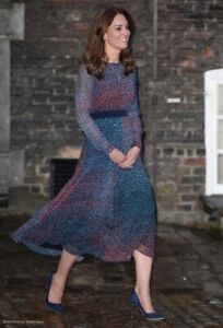 New-LK-Bennett-Addison-Printed-Silk-Dress-Sz-UK-8-10
