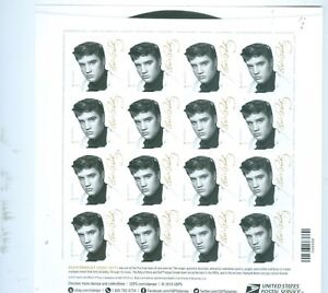 US-5009-ELVIS-PRESLEY-SHEET-OF-16-FOVER-STAMPS-ISSUED-2015-MINT-POF