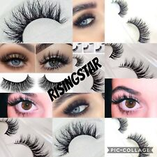 False Eyelashes Apprehensive 6 Pairs 3d Mink Hair Natural Cross Eyelashes Long Messy Makeup Fake Eye Lashes Extension Make Up Beauty Tools Makeup