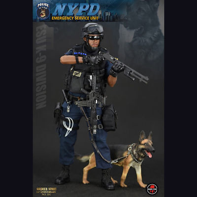 1//6 Scale SoldierStory SS101 NYPD ESU K-9 DIVISION Collectible Figure Pants Toys