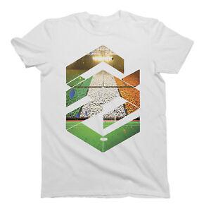 Mens Fashion Shape T-Shirt WALES Football Trendy
