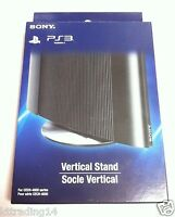 Sony Official Ps3 Super Slim Metal Vertical Console Base Stand - - Genuine