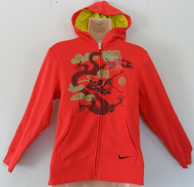 b32ae74c5451 SPECIAL~Nike CHINESE NEW YEAR OF THE DRAGON HOODY Sweat Shirt Jacket~YOUTHS  sz