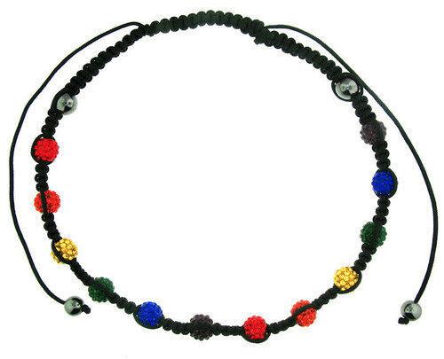 Pride Shack Rainbow Beaded Adjustable LGBT Gay /& Lesbian Pride Necklace