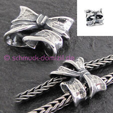 TROLLBEADS Silberbead Doppel Schleife / Double Bow - TAGBE-30134