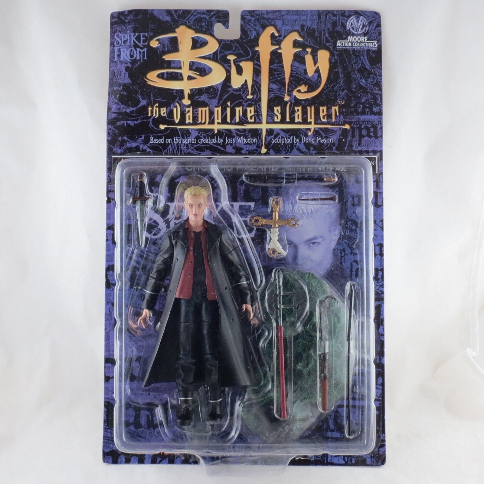 Buffy the Vampire Slayer Spike Moore azione Collectibles  worn package