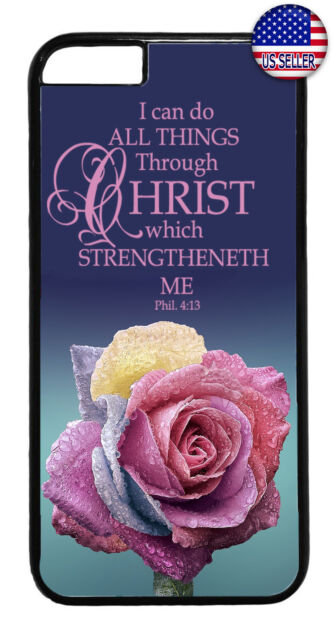 Christ Bible Verse Christian Religion Case Cover For iPhone Xs Max XR X 8