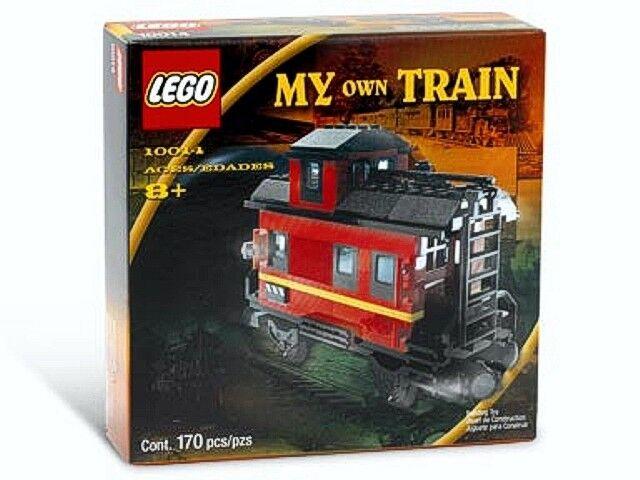 Lego 9 Volt Eisenbahn Eisenbahn Eisenbahn - My Own Train - 10014 Caboose - NEU 1f2941