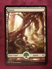 Battle for Zendikar Full Art Land  Forest #270  VO  -  MTG Magic (Mint/NM)