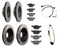 Bmw E39 5-series Front And Rear Brake Kit By Opparts W/ Pads & Sensor on sale