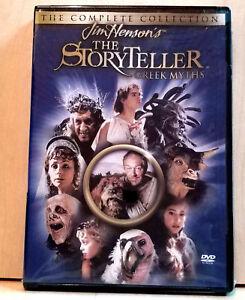 Jim-Hensons-The-Storyteller-Greek-Myths-DVD-2004-Rare-OOP-w-Insert