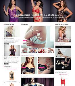 Lingerie Website For Sale 101