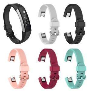 Details zu Armbänder Verstellbares Ersatz Armband Uhrenarmband Band für Fitbit Alta HR S L