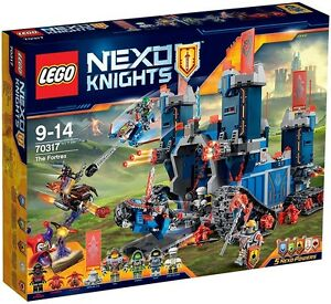 LEGO - NEXO KNIGHTS - 70317 - LE FORTREX - NEUF ET SCELLE - NEW AND SEALED
