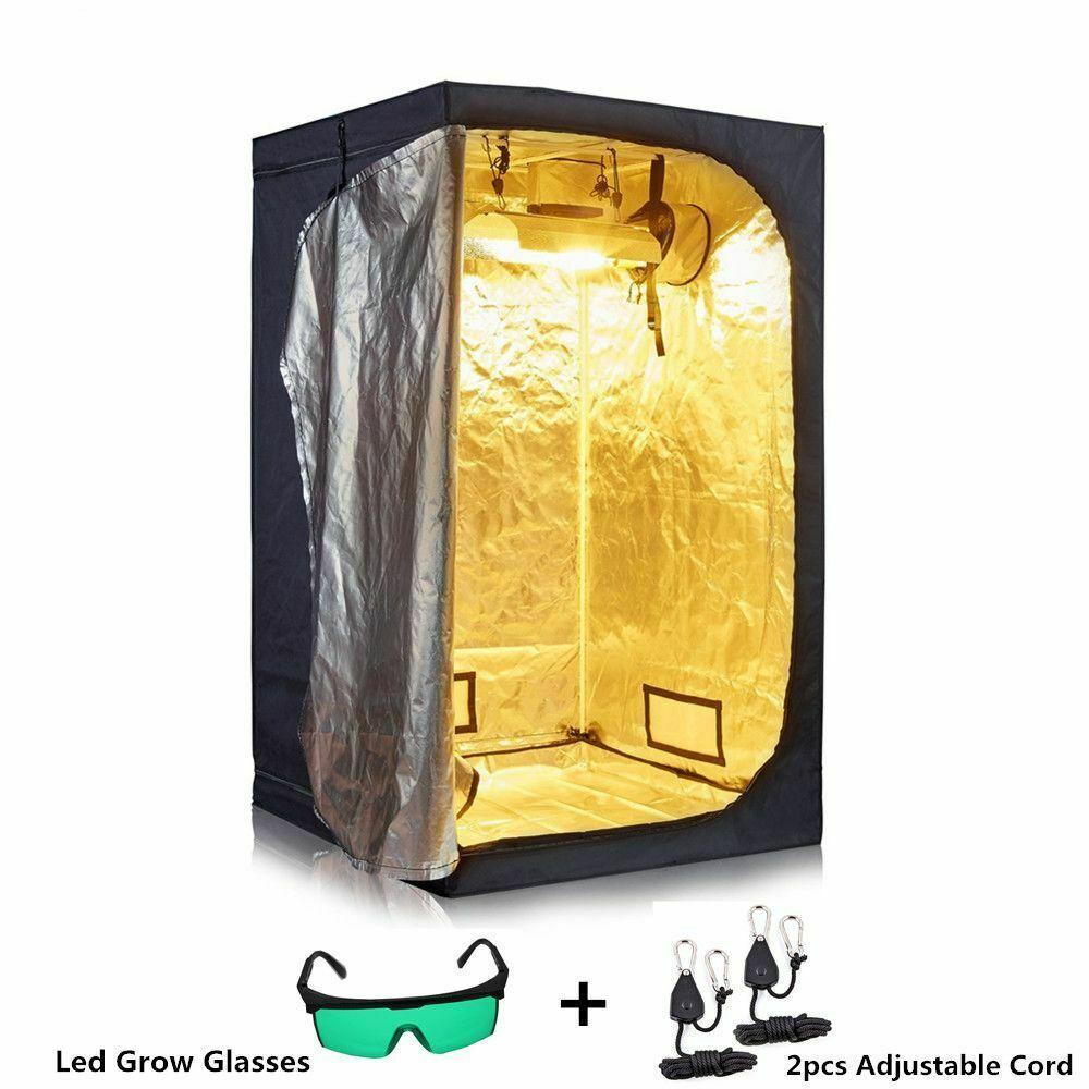 Indoor Grow Tent Hydroponics Plants Reflective Growing Room Box Led Non Toxic To