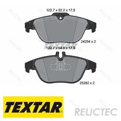 MERCEDES C CLASS ESTATE REAR BRAKE PADS AND SENSOR W204 S204 C204 C207 A207 X204