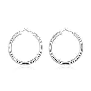Image Is Loading Hot Women 18k White Gold Plated Very Small