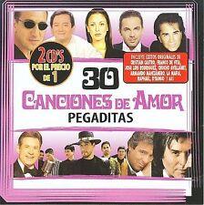 Various Artists-30 Canciones De Amor Pegaditas (2 Cd) CD NEW