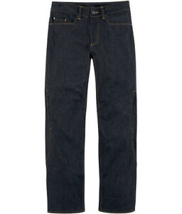Icon-Insulated-Denim-Aramid-Motorcycle-Motorbike-Trousers-Jeans-All-Sizes