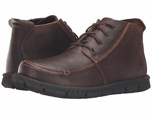 7a990809a30 Details about Born Men Neuman Lace Up Ankle Boot Timber Brown Size 8, 8.5,  9.5, 10.5, 11.5, 12
