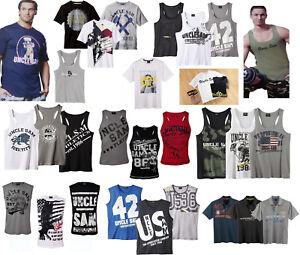 Uncle Sam Fitnessshirt Sportshirt T-Shirt Achselshirt Sporthemd Trägershirt