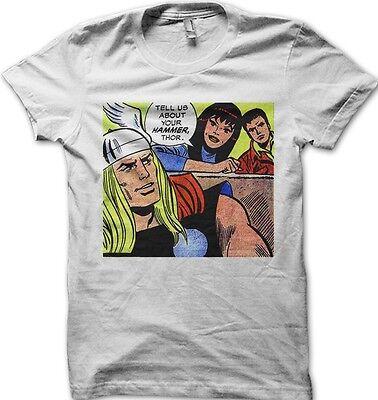 Geek/'s Ultimate Tube Map superhero white printed  t-shirt F9958