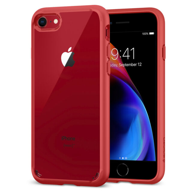 size 40 0ccc3 b4e3a Spigen Ultra Hybrid 2nd Generation iPhone 7 Plus Case Clear With Reinforced  Ca