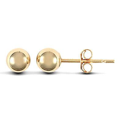 9ct Gold pink 3mm Cubic Zirconia stud earrings Erin Rose Jewellery Co