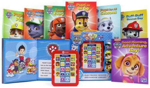 Paw Patrol Junior Me Reader le Stand-Alone Electronic Pad NEW /_ UK