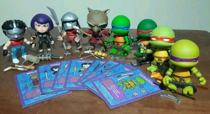 TMNT TMNT TMNT LOYAL SUBJECTS MINI ACTION FIGURE LOT teenage mutant ninja turtles shredder 03b0ee