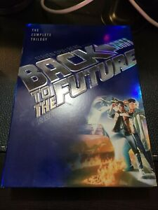 Back-to-the-Future-Complete-Trilogy-DVD-2002-3-Disc-Set-Widescreen-MINT