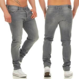 NWT-DIESEL-Men-039-s-TEPPHAR-R050G-Gray-Slim-Carrot-Stretch-Jeans-32-x-30