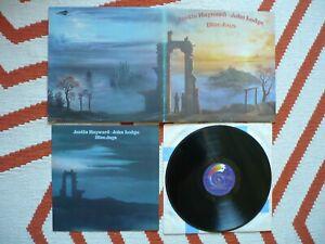 Justin-Hayward-amp-John-Lodge-Blue-Jays-Vinyl-UK-1975-2W-2W-LP-The-Moody-Blues-EXC