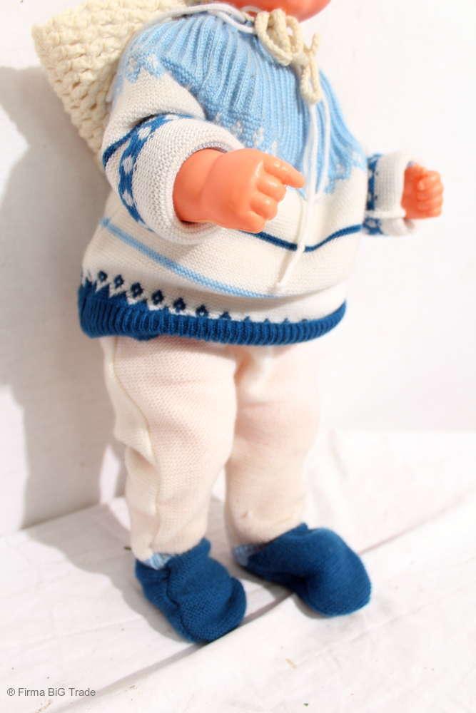 Retro    60er Jahre Puppenwagen m. Puppe   Speichenräder Klappsitz   Beautiful 60s 1a752e
