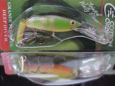 tough Cotton Cordell Deep Jointed  Wally Diver lure CDJ522 Perch