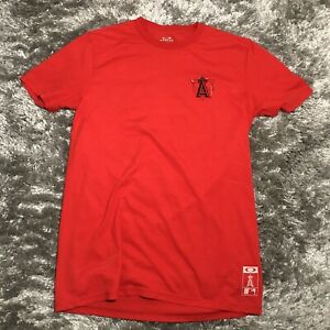 Mens-Medium-OAKLEY-Limited-Edition-LA-ANGELS-OF-ANAHEIM-Tee-Shirt-MLB-Baseball