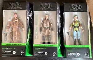 Leia-Han-Solo-Luke-Skywalker-Endor-Star-Wars-Black-Series-3-Figure-Set